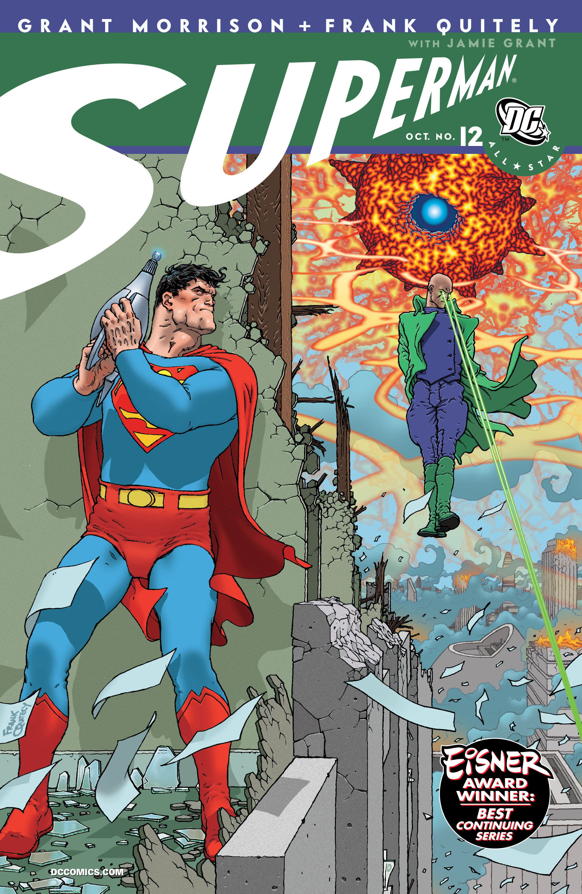 All Star Superman 12 Page 1