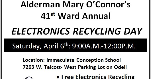 For What It's Worth: New 41st Ward recycling location