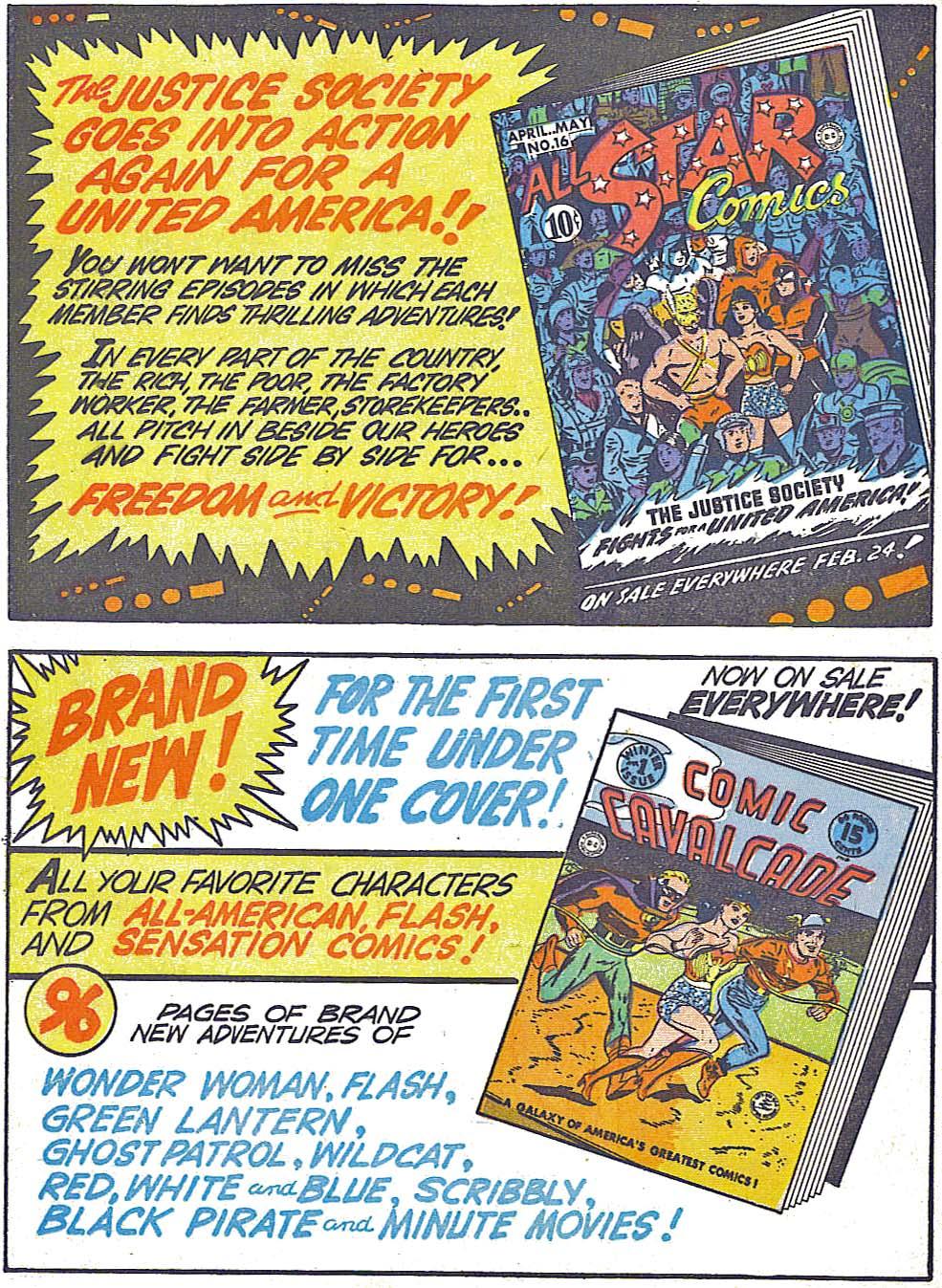 Read online All-American Comics (1939) comic -  Issue #49 - 50