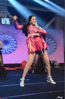 Sunny Leone Dancing on stage At Rogue Movie Audio Music Launch ~  076.JPG