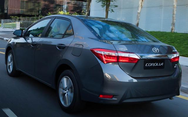 Toyota Corolla 2017 - Preço