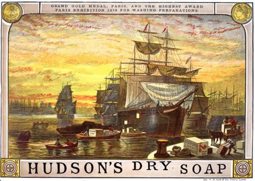 Mydło w proszku powstało w angielskiej fabryce