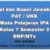 Soal dan Kunci Jawaban PAT / UKK IPA Kelas 7 Semester 2 SMP/MTs