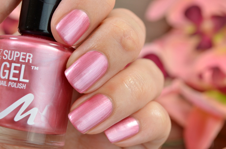 Manhattan Super Gel Nail Polish Pretty Rose