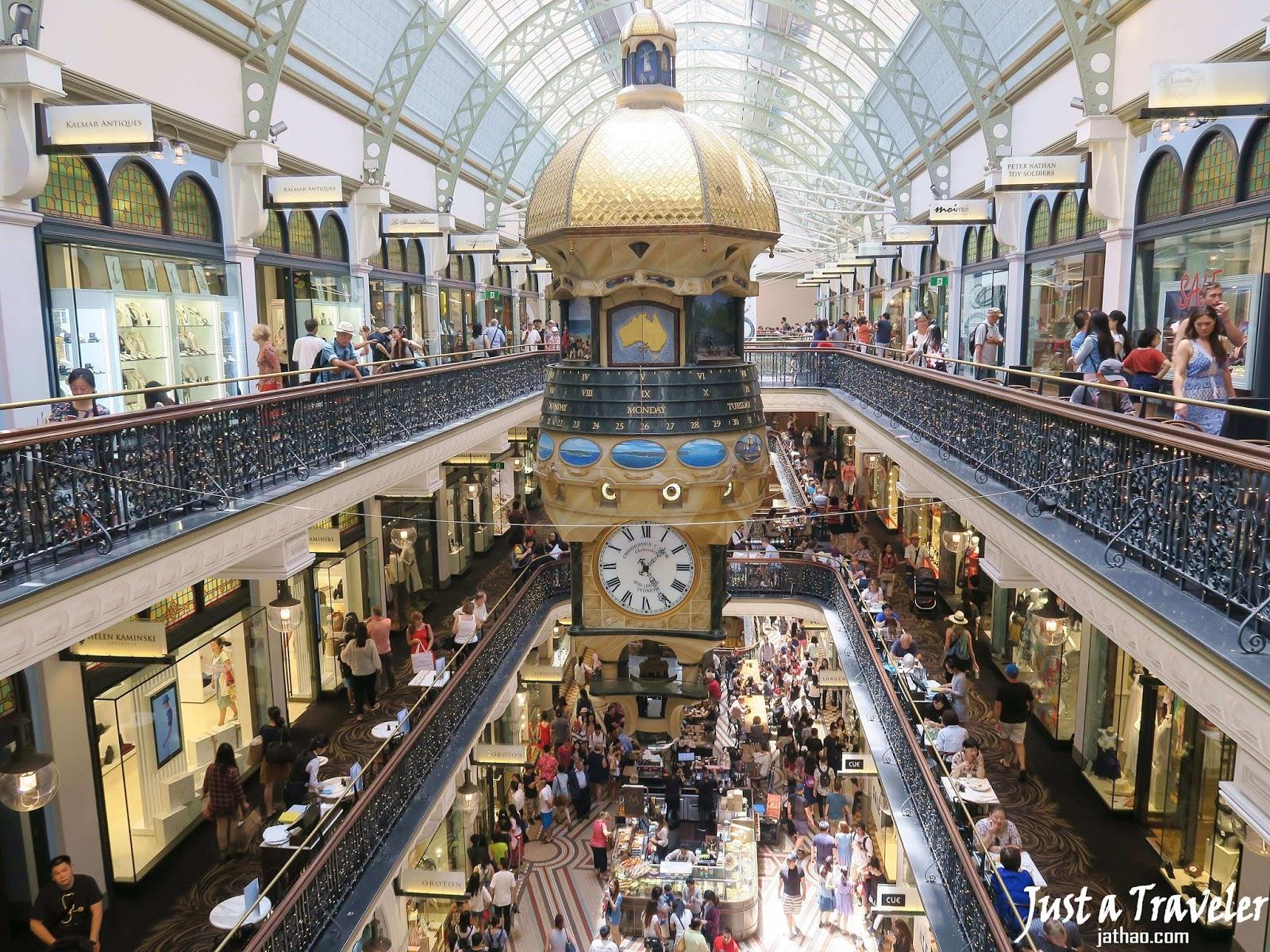 雪梨-景點-推薦-維多利亞女王大廈-旅遊-自由行-澳洲-Sydney-Queen-Victoria-Building-Travel-Australia