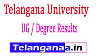 Telangana University TU 1st Sem Results 2017