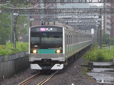 小田急電鉄 東京メトロ千代田線直通 多摩急行 綾瀬行き1 E233系2000番台(平日1本運行)