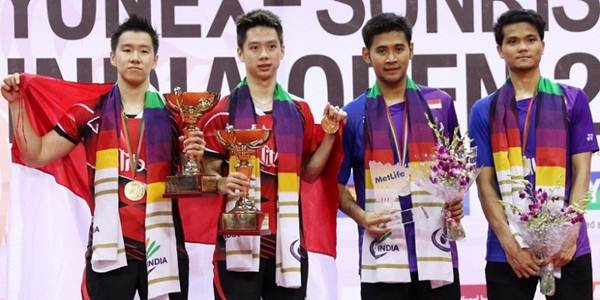 All Indonesian final India Open