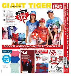 Giant Tiger Flyer June 21 – 27, 2017