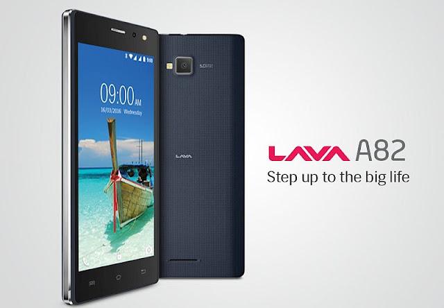 லாவா A82 மொபைல் விற்பனைக்கு அறிமுகம் - 1 GB ரேம் 1