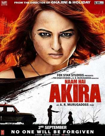 Poster Of Akira 2016 Hindi 700MB DVDScr V2 x264 Watch Online Free Download Worldfree4u