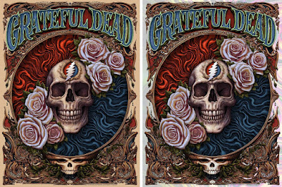 Grateful Dead Screen Print by N.C. Winters x Bottleneck Gallery