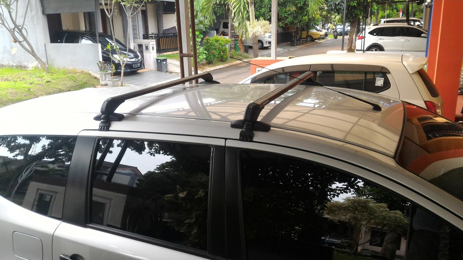 roof rack grand new avanza is the camry all wheel drive andarupratomo review sportrack cross bar jepit body and