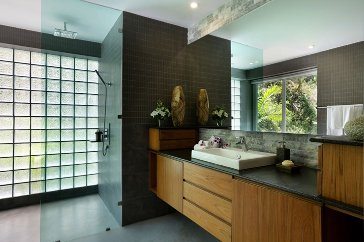 Bathroom in Modern Villa Beyond in Phuket