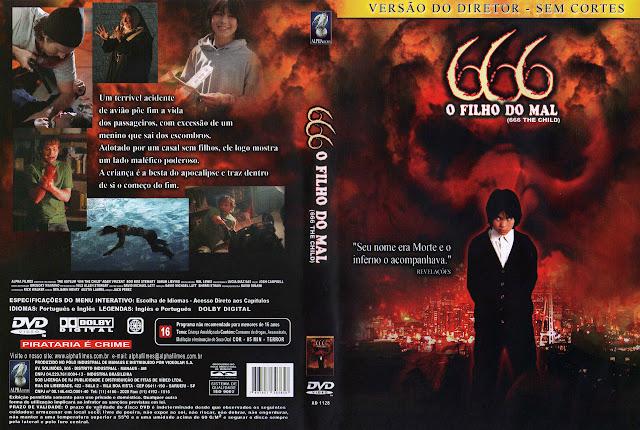 Capa DVD 666 O FILHO DO MAL