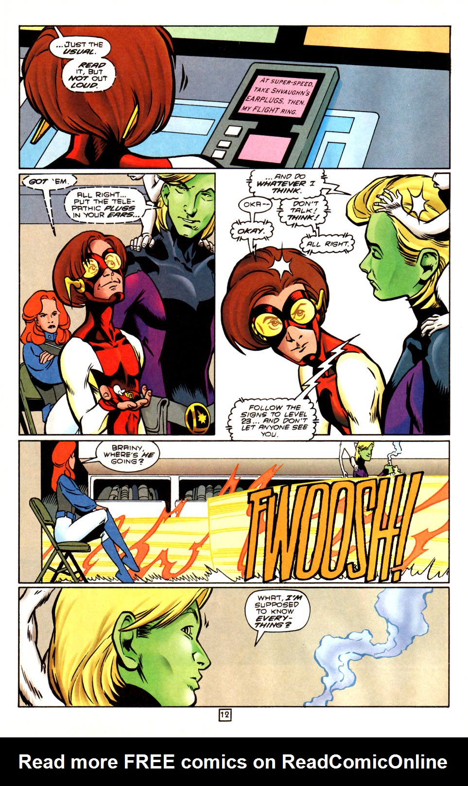 Legion of Super-Heroes (1989) 88 Page 12