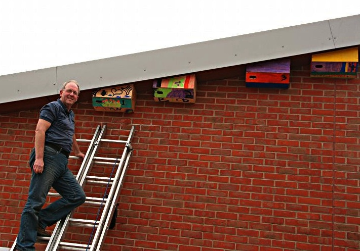 Action For Swifts Swift Nest Boxes At Shirley Primary School