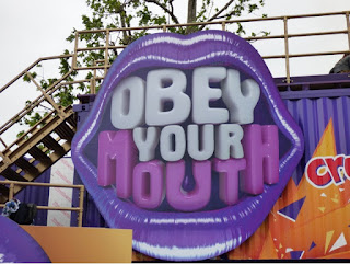 CADBURY OBEY YOUR MOUTH HOUSE IN LONDON