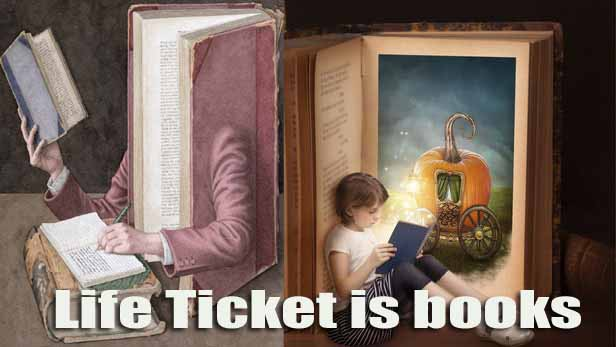 Life Ticket is books