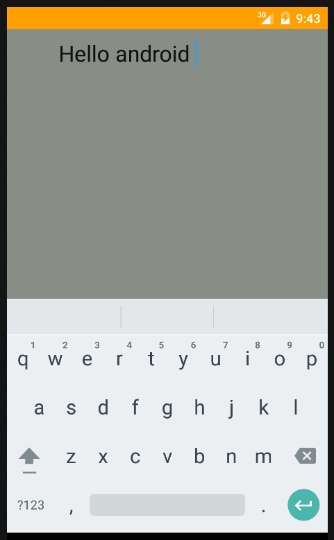 Android - How to change EditText border