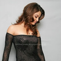 Aishwarya rai hot  photos in black dress