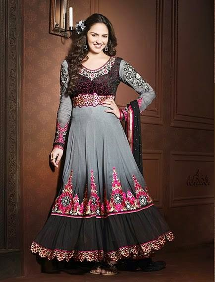 4b84ff2de Dazzling And Exclusive Indian Anarkali Frocks Designs 2014 For Young ...