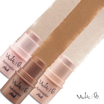 embalagem com maquiagem em tres cores da vult lu tudo sobre tudo