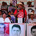 Families demand truth of fate of 43 missing students