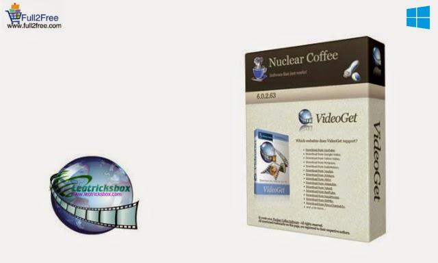 Nuclear Coffee VideoGet v7.0.3.91 + Crack