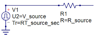 Every DUT can be thought of as a Thevenin voltage source with some internal resistance