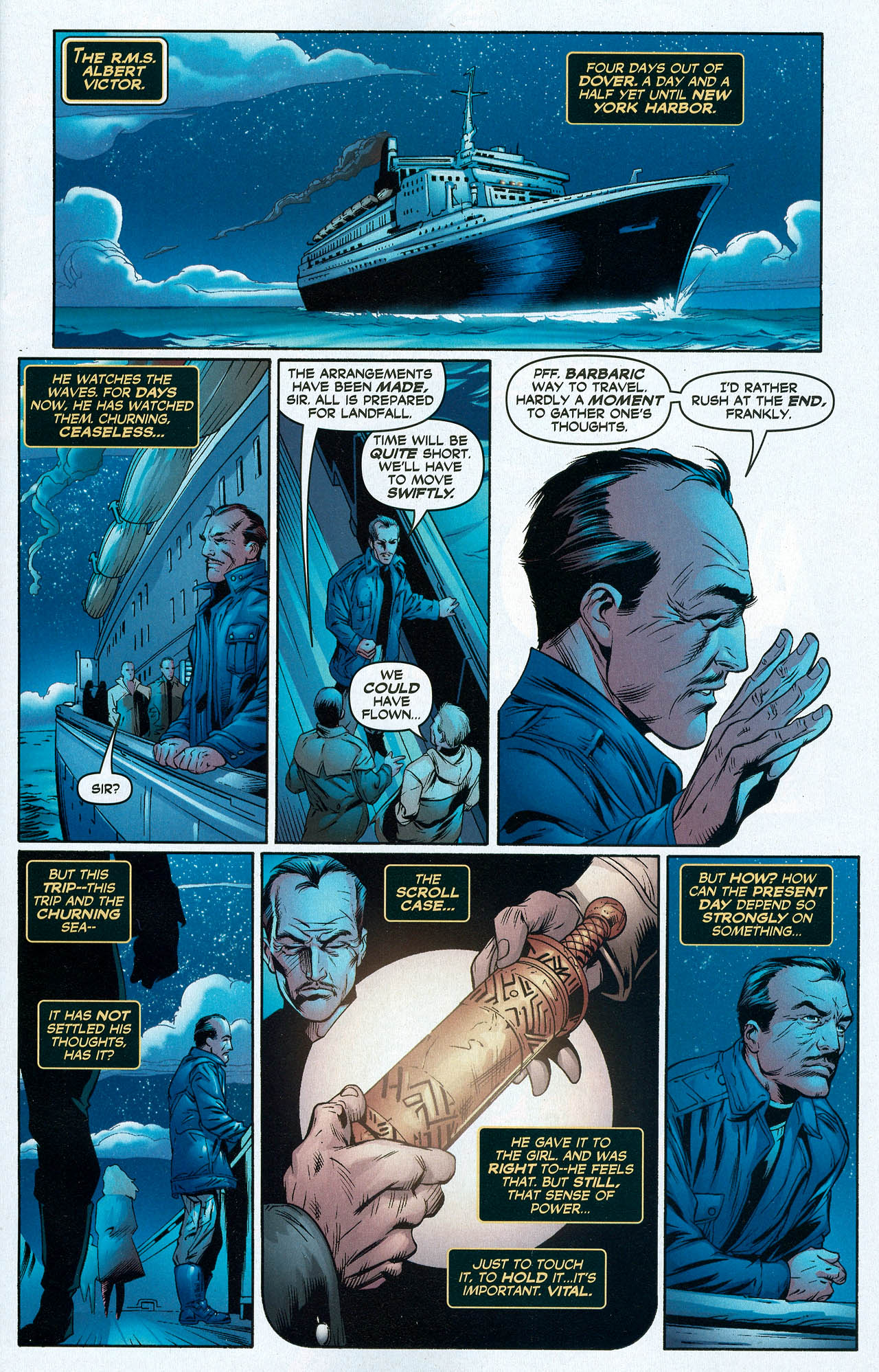 Read online Trinity (2008) comic -  Issue #22 - 3