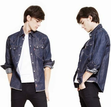 Trend fashion style gaya busana pria 2015 - Denim jeans