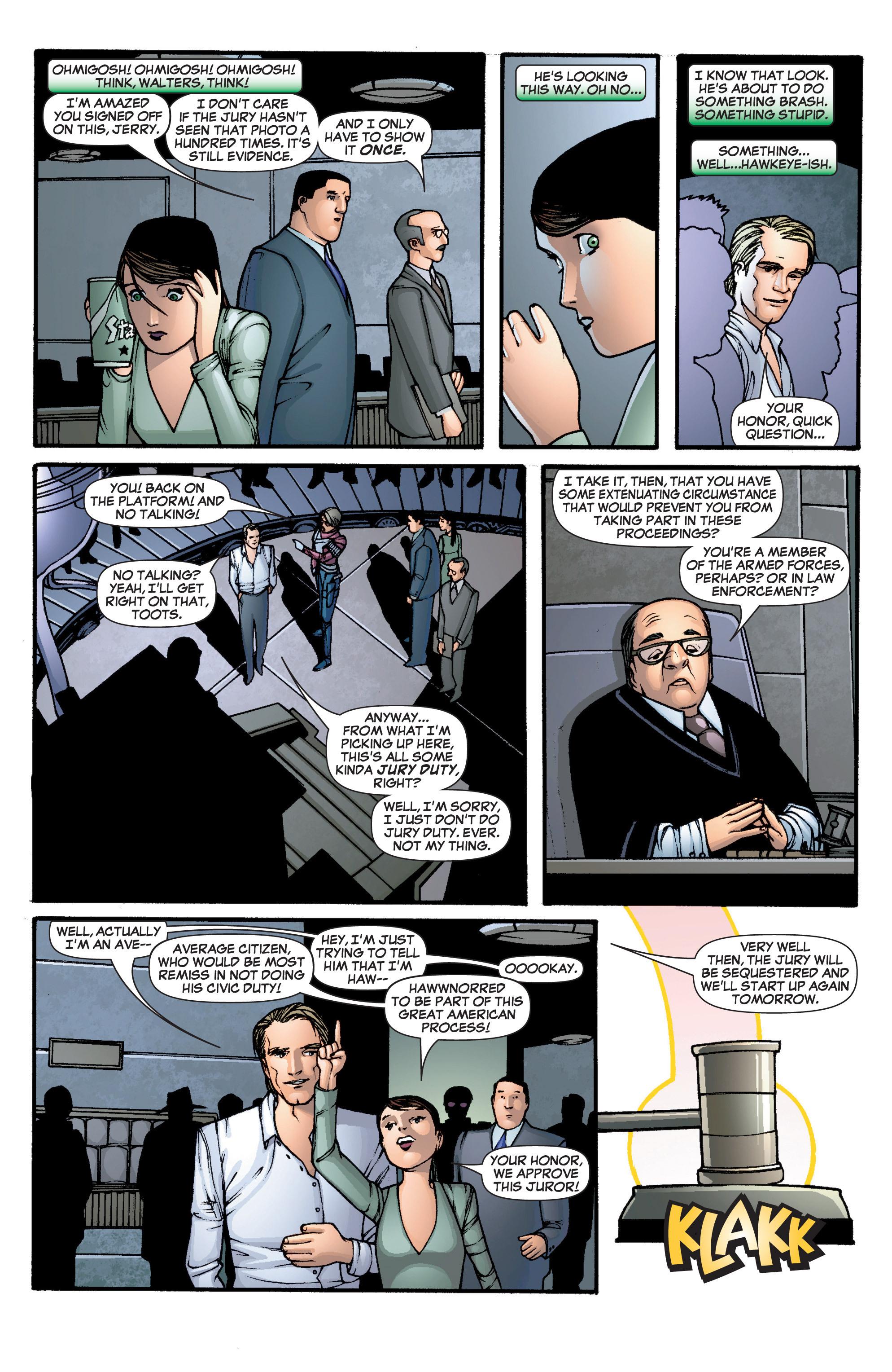 Read online She-Hulk (2005) comic -  Issue #1 - 22