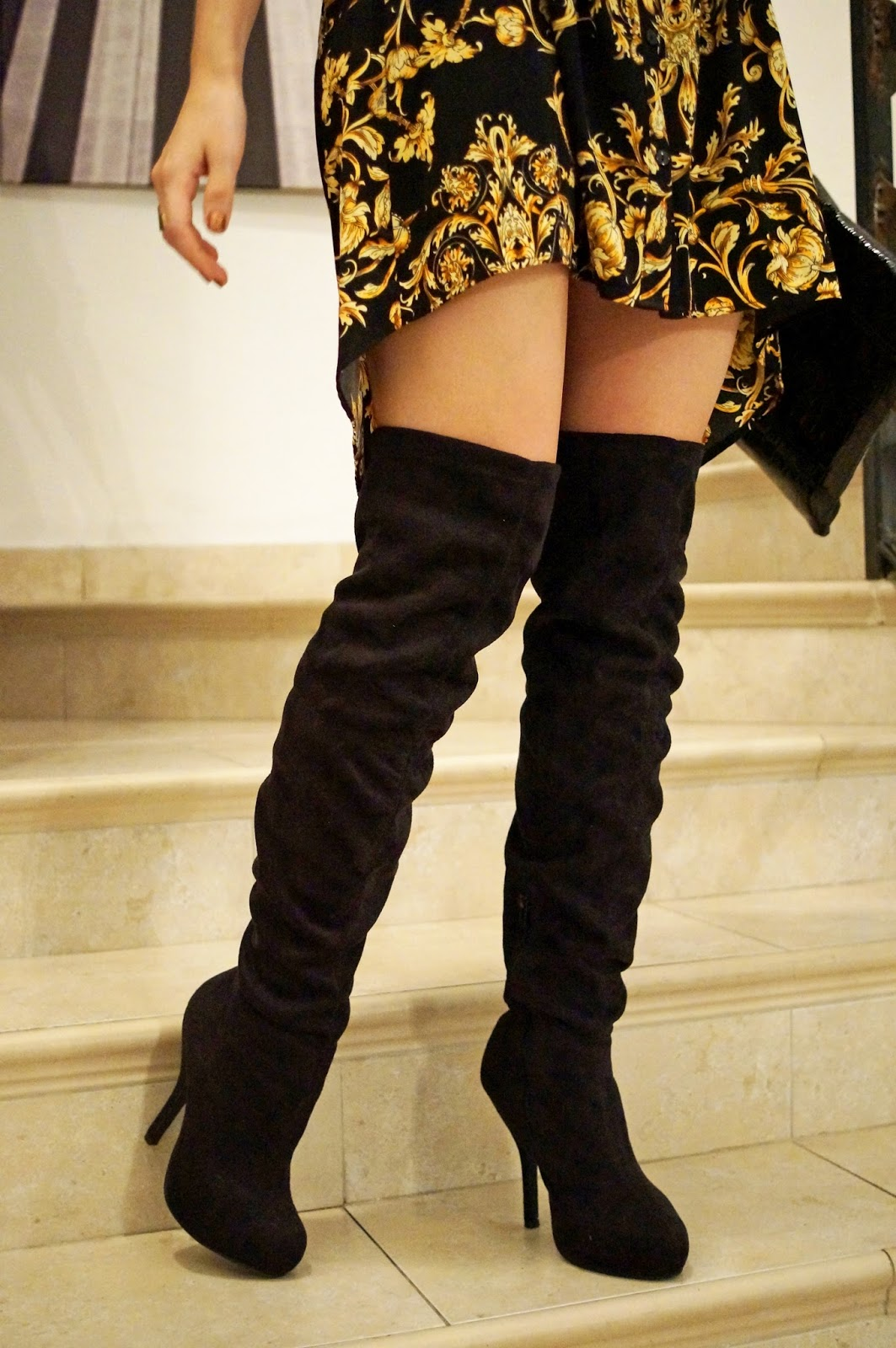 Chic and Affordable Thigh High Boots from Forever 21