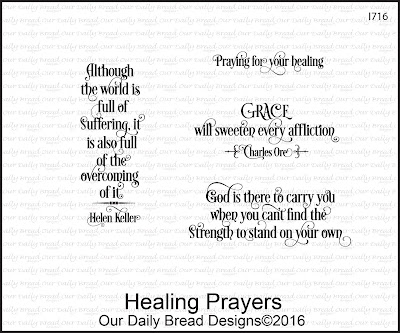 Our Daily Bread Designs Stamp Set - Healing Prayers