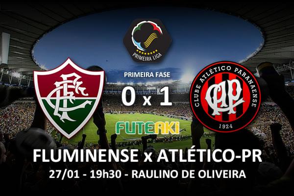 Veja o resumo da partida com os gols e os melhores momentos de Fluminense 0x1 Atlético-PR pela 1ª rodada da Copa Sul-Minas-Rio 2016.