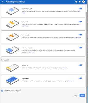 google auto ads kaise create karte hai