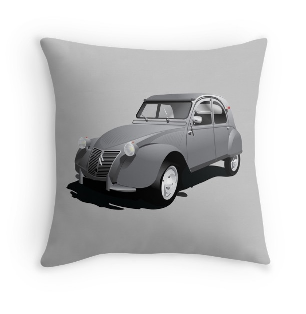 Citroën 2CV gift pillow