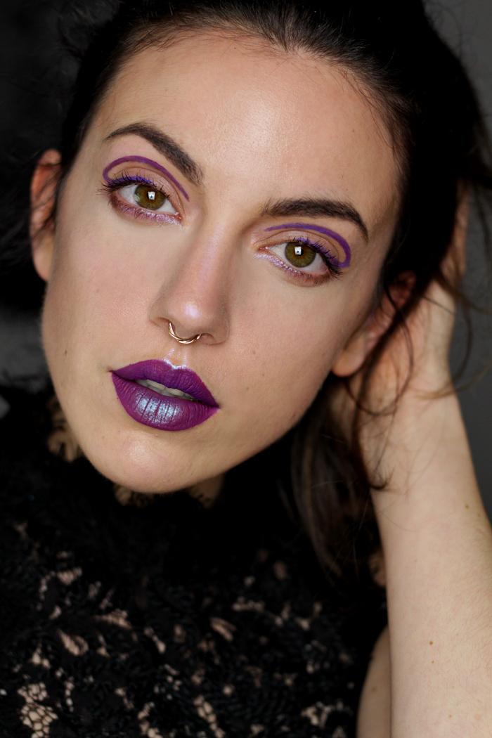 Pantone Ultra Violet Make up