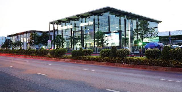Mercedes Trường Chinh được thành lập với tổng số vốn đầu tư gần 4 triệu đô la Mỹ