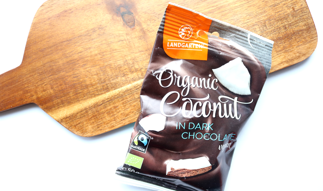 Landgarten Organic Coconut in Dark Chocolate