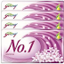 GODREJ NO1 SOAP JASMINE 100GM X 4 + FREE Alovera Soap of Rs.10/-