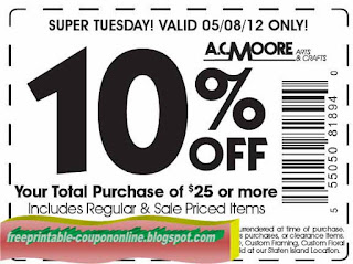 Printable Coupons 2019: AC Moore Coupons