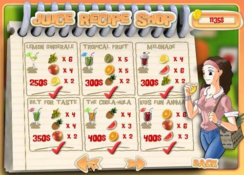 لعبة محل العصائر Juice Mania للاطفال مجانا