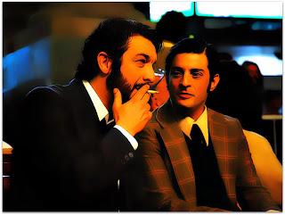 Benjamin Esposito (Ricardo Darín) e Ricardo Morales (Pablo Rago) (O Segredo dos Seus Olhos)