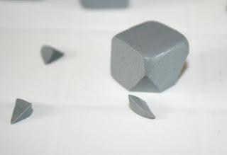 Slicing away - Creating geometric polymer clay beads
