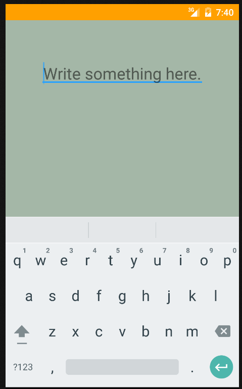 Android - Tap outside EditText to hide soft keyboard