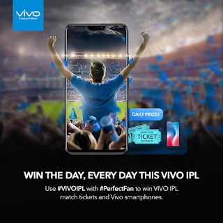 Free Tickets for IPL 2018 Vivo Phone Perfect Fan Contest to