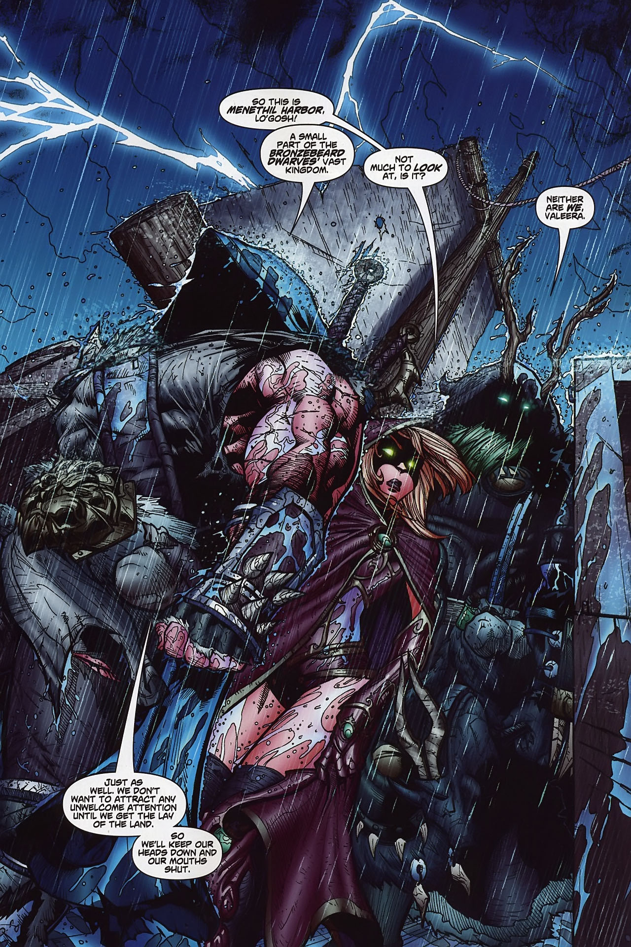 Read online World of Warcraft comic -  Issue #8 - 6