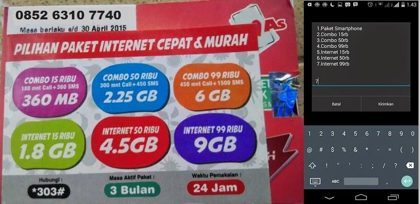 Paket Internet Combo Simpati